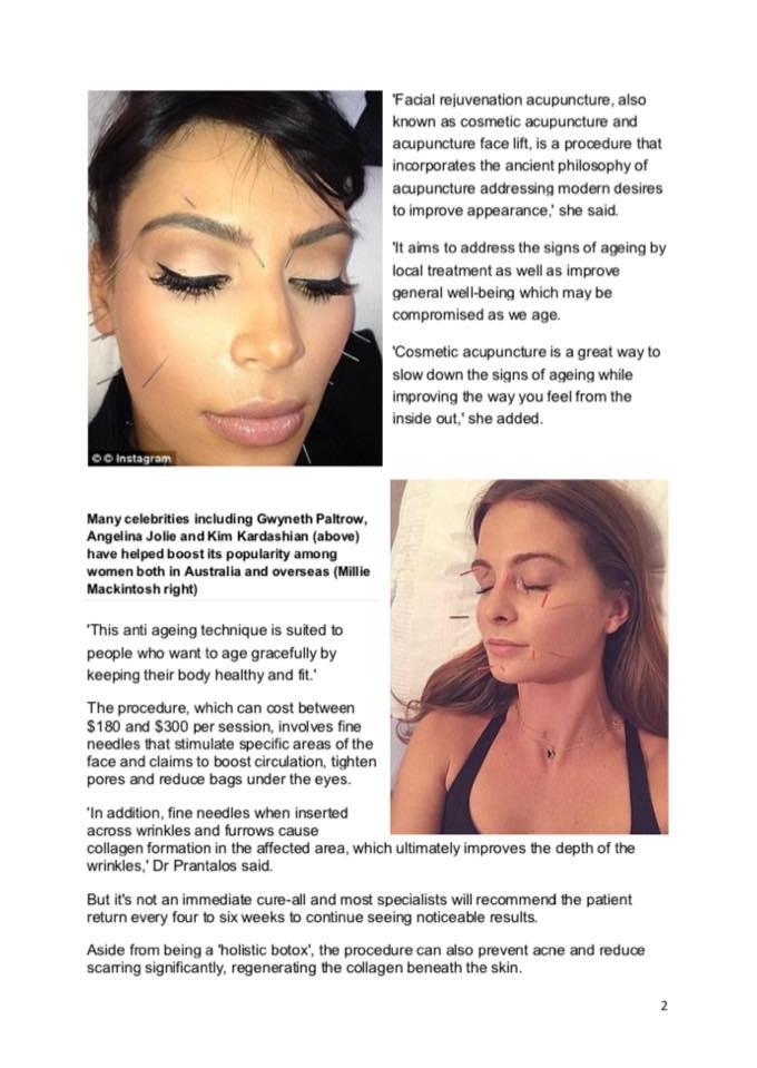 Celebrity Facial