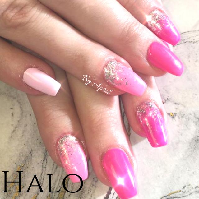Pink Gel Extensions