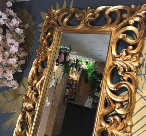 Gold Mirror Hairdressers