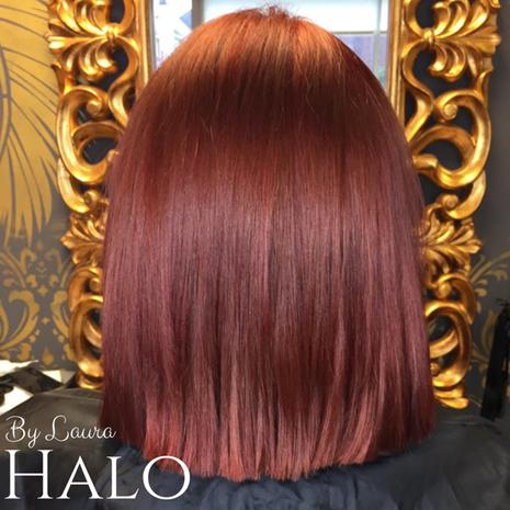 Copper Bob Hair