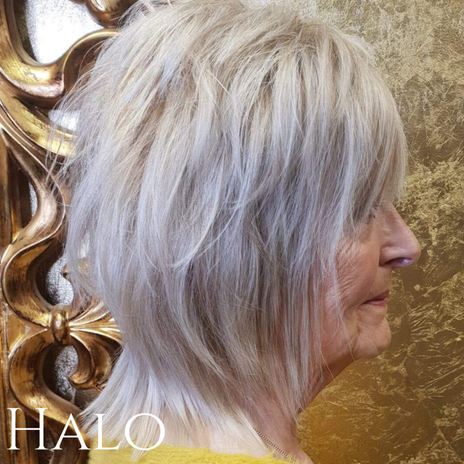 Platinum Blonde Cut