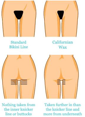 Bikini Wax & California Wax