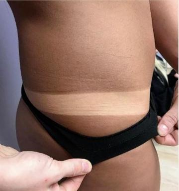 Spray Tan Results