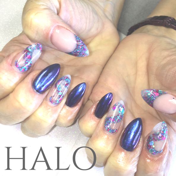 Acrylics with Encapsulated Glitter