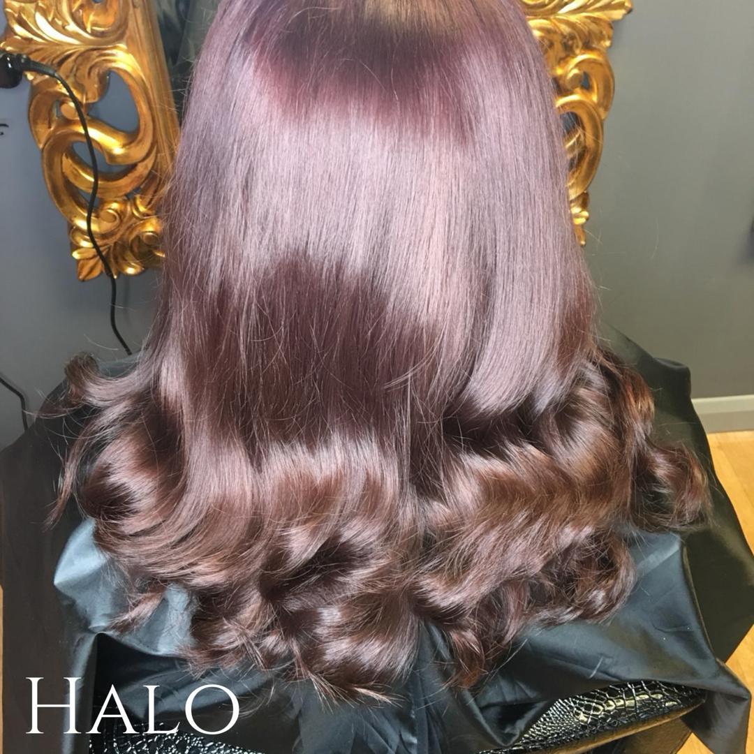Plum Colour Hair