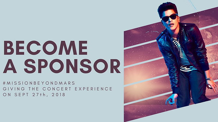 Bruno Mars Sponsor