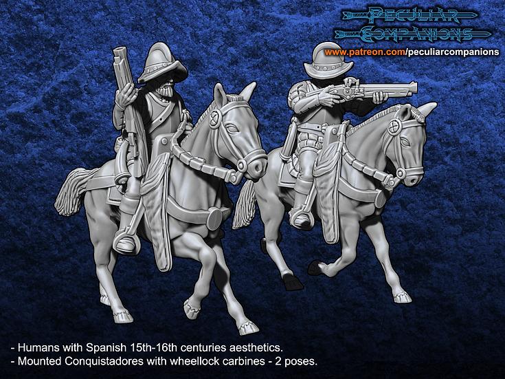 Spaniard Humans - Mounted Conquistadores