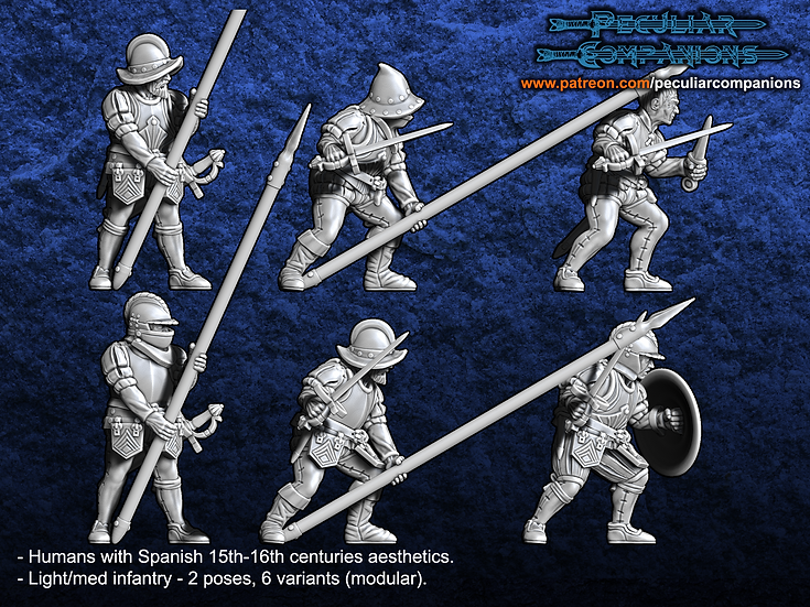 Spaniard Humans - Light Infantry
