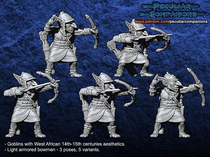 Benin Orcs & Gobs - Goblin Bowmen