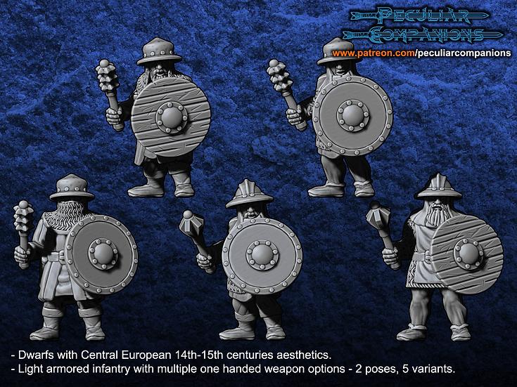 Breton Dwarfs Light Infantry