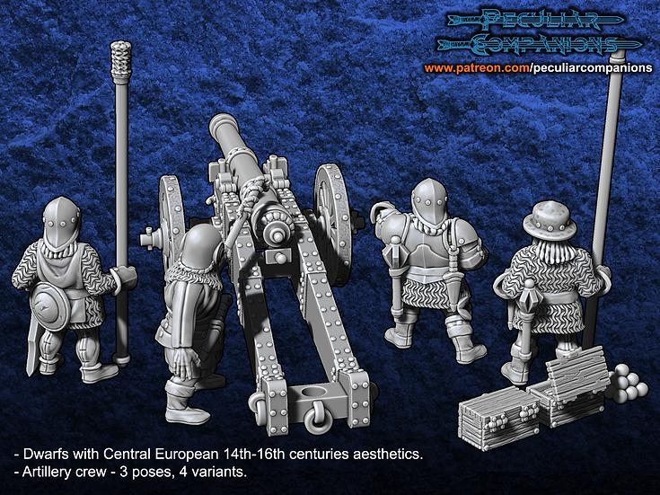Breton Dwarfs - Artillery Crew