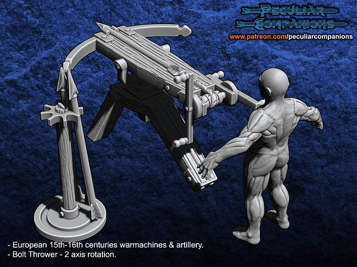 European Artillery - Bolt thrower