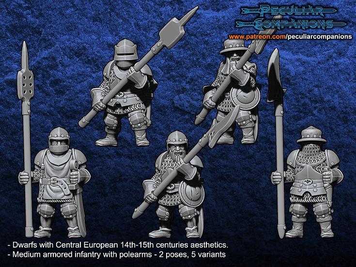 Breton Dwarfs Medium Infantry