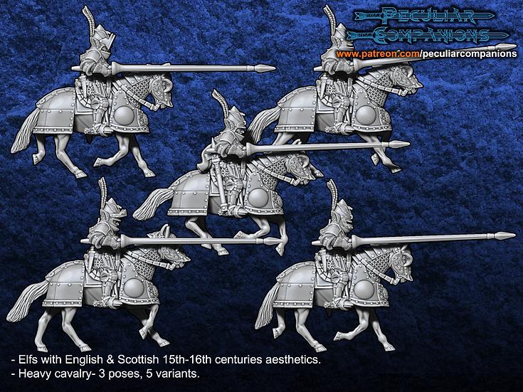 Anglo-Scottish Elfs -Heavy Cavalry