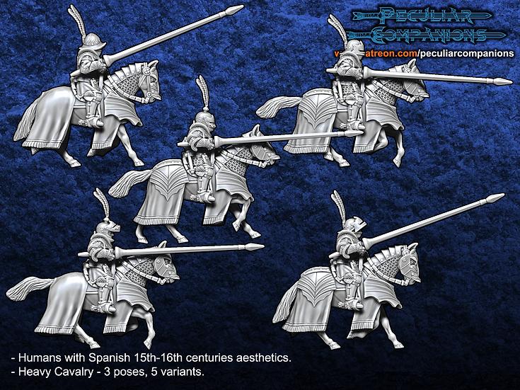 Spaniard Humans - Heavy Cavalry