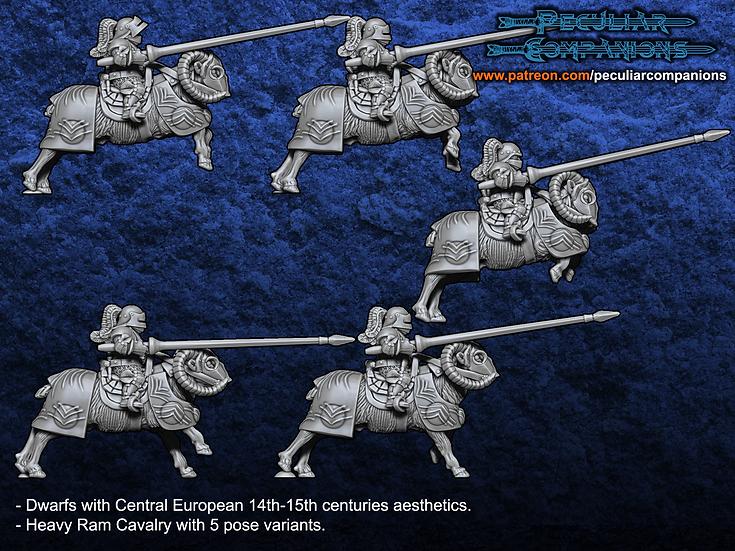 Breton Dwarfs Heavy Cavalry
