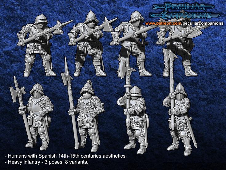 Spaniard Humans - Heavy Infantry