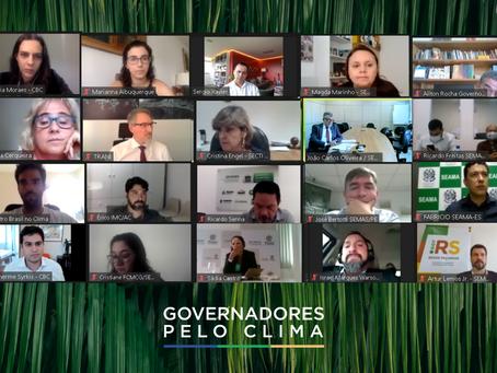 Governadores pelo Clima: Reunião do secretariado contou com a presença de 18 estados brasileiros