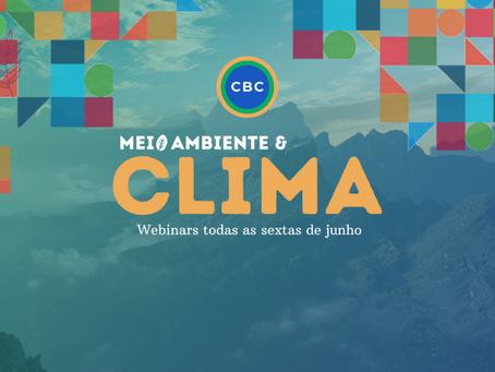 Centro Brasil no Clima realiza mês do Meio Ambiente com série de webinars