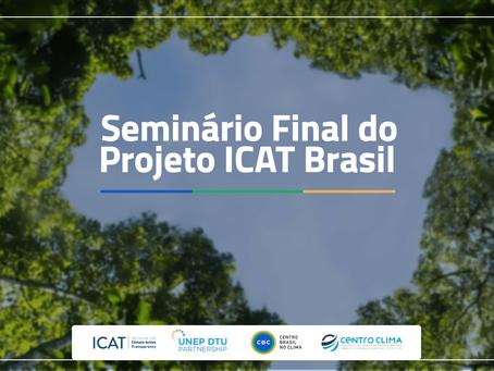 CBC realiza seminário final do projeto ICAT nesta sexta