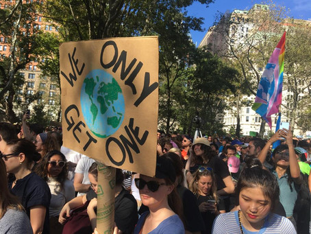 CBC joins the Global Climate Strike at New York