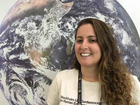 Olivia Ainbinder aborda conteúdos sobre justiça socioambiental e climática na nova página