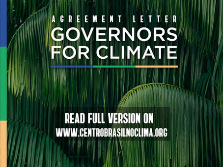 Governors for Climate - Agreement Letter