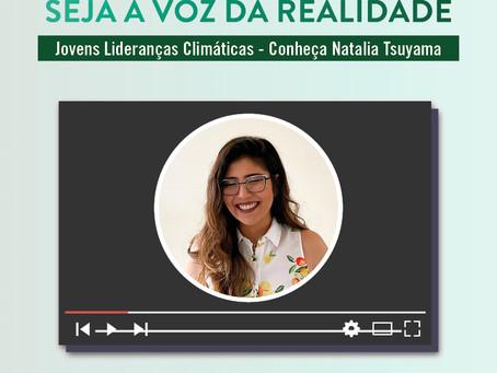 Jovens Lideranças Climáticas - Conheça Natalia Tsuyama