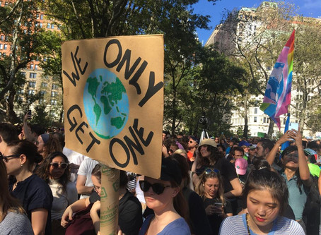 CBC participa da Global Climate Strike em Nova York