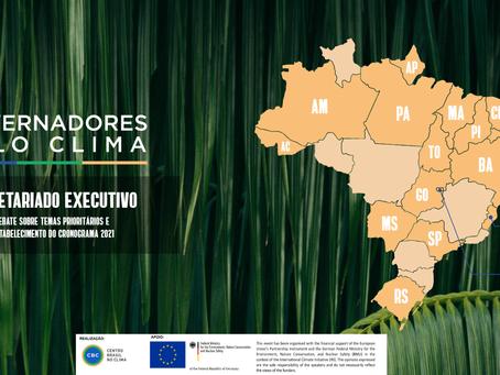 Governadores Pelo Clima instala secretariado e inicia agenda para impulsionar economia verde
