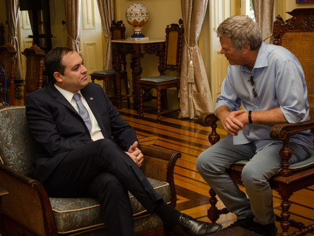 CBC meets the governor of Pernambuco
