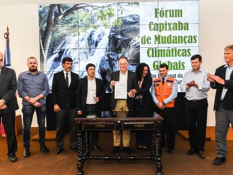 Espírito Santo creates Capixaba Climate Change Forum