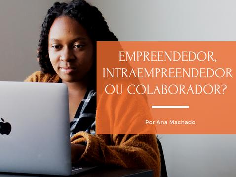 Empreendedor, intraempreendedor ou colaborador?