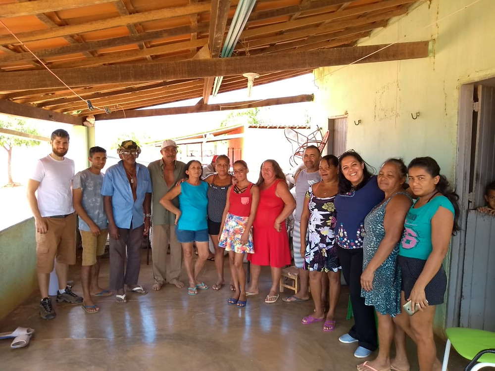 Reunião com a comunidade de Passarinha no Sertões de Crateús/CE