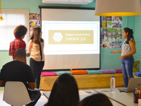 Programa de Embaixadores Choice 2.0: A vivência que reúne a juventude empreendedora brasileira