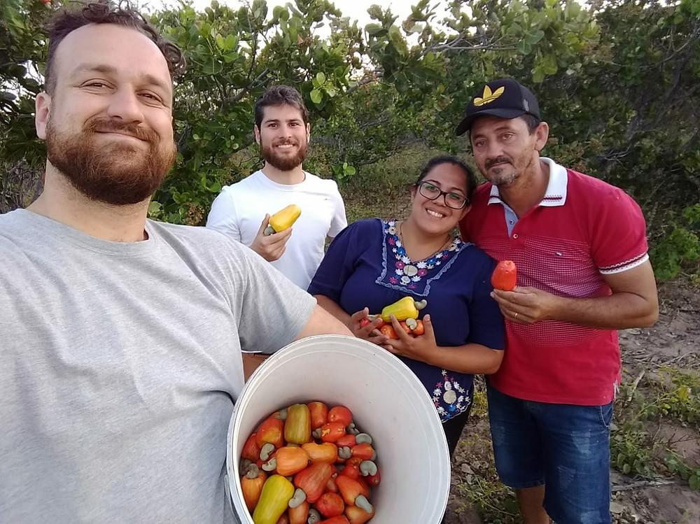 Visita a fazenda agroecológica do produtor rural Antonio Evaldo Soares Godinho, comunidade Estação no Sertões de Crateús/CE
