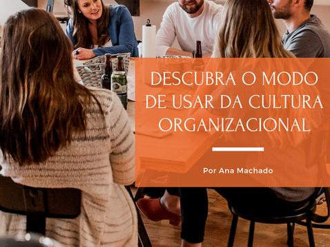 Descubra o modo de usar da cultura organizacional