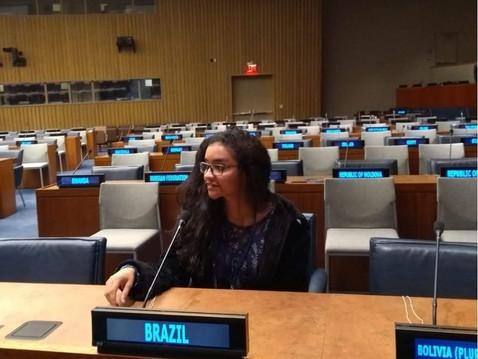 Do Choice à ONU: Como Larissa Aniceto iniciou a carreira em impacto social e chegou ao 57th Comissio