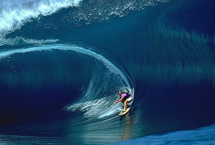 Surfer avec la vague du changement
