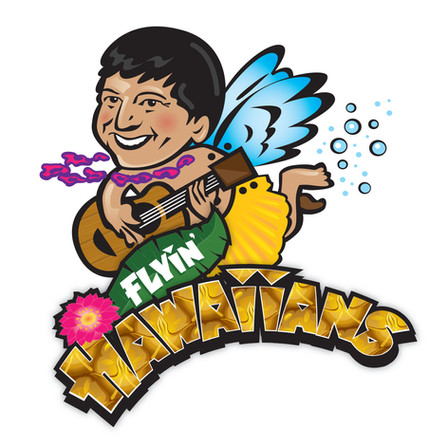 Local wiffleball team commissions TPD to do logo — Go Flyin' Hawaiians!