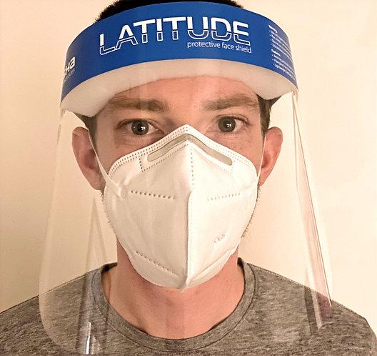 LATITUDE Standard Face Shield (Not Anti-Static)