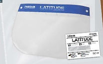 Latitude - Protective Face Shield packed