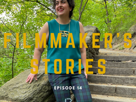 Podcast: Filmmaker's Stories - Tara Jabbari