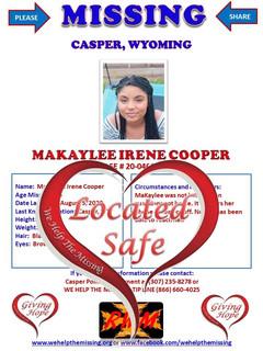 Cooper, Makaylee