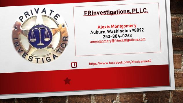 FRInvestigations, PLLC