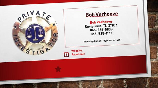 Bob Verhoeve