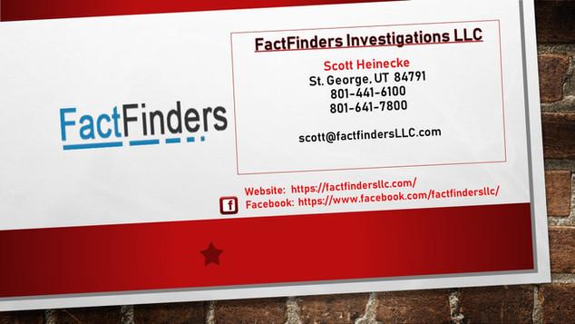 FactFinders Investigations LLC