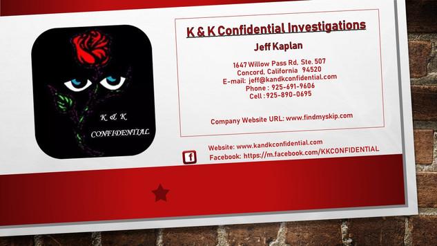 K & K Confidential
