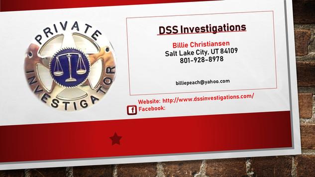 DSS Investigations