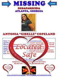 Copeland, Antonia Giselle